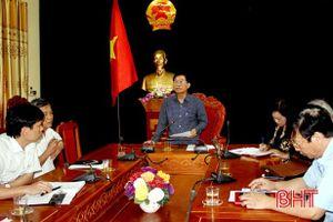 Rà soát để điều chỉnh quy hoạch khai thác cát xây dựng ở Hương Sơn