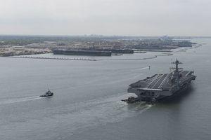 Nghi vấn tàu sân bay Mỹ chết máy sau khi bị tàu Nga bám đuổi