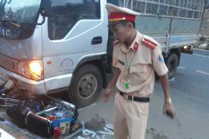 Đắk Lắk: Va chạm với xe tải, 1 người đi xe máy tử vong