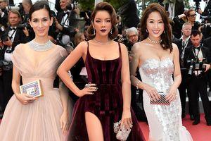 Thảm đỏ Cannes 2018 ngày 3: Lý Nhã Kỳ 'tím mộng mơ' nổi bật hơn nhiều mỹ nhân Châu Á