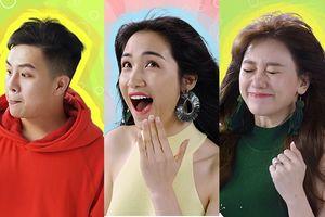 Ngất lịm với loạt biểu cảm 'thật bất ngờ' của Hari Won, Hòa Minzy và Duy Khánh