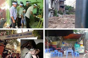Tin tức Hà Nội 24h: Những đứa trẻ ngơ ngác trong lễ tang cha