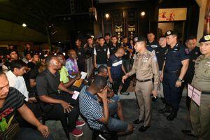 Chính quyền Thái Lan truy quét tội phạm quốc tế
