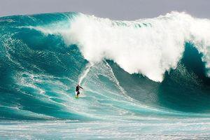 Sóng cao gần 24m lập kỷ lục ở nam bán cầu