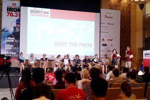 Hơn 1.600 vận động viên đăng ký tham gia cuộc đua Techcombank Ironman 70.3 Việt Nam