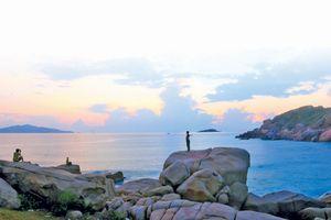 Bãi biển nước ngọt trong lòng 'chảo lửa' Ninh Thuận