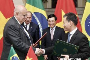 Bộ trưởng Ngoại giao CH Liên bang Brazil thăm chính thức Việt Nam