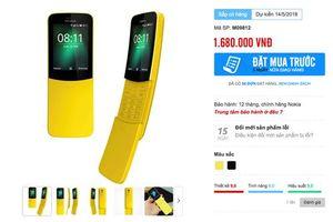 Nokia 8110 chính hãng sắp bán tại Việt Nam, giá 1,68 triệu đồng