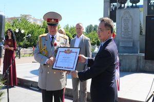 Gặp gỡ cựu chiến binh Việt Nam và Ukraine nhân ngày chiến thắng