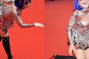 Thảm đỏ Cannes 71 bát nháo với cảnh hở hang, chiêu trò