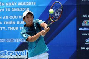 Tay vợt Nhật hạ Hoàng Nam, vô địch Vietnam F2 Futures