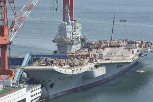 Tàu sân bay 'Made in China' lần đầu tiên chạy thử trên biển