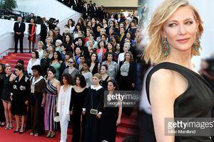 Cate Blanchett tập hợp 82 ngôi sao để kêu gọi sự bình đẳng về nữ quyền tại LHP Cannes 2018