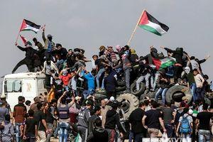 Palestine kêu gọi biểu tình lớn chống Israel tại Gaza và khu Bờ Tây
