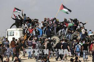 Đụng độ bùng phát tại biên giới Gaza-Israel, nhiều người bị thương