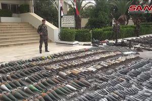 Xem lô vũ khí Israel đang nằm trong tay quân đội Syria