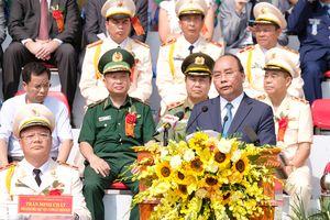 Thủ tướng Nguyễn Xuân Phúc dự Lễ kỷ niệm thành lập Học viện Cảnh sát nhân dân