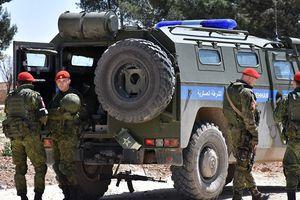 Chiến sự Syria: Lực lượng quân cảnh Nga tuần tra khu vực nam Damascus