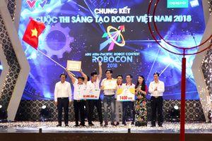Đội LH - ATM Đại học Lạc Hồng vô địch Robot Việt Nam 2018