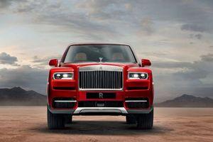 Rolls-Royce Cullinan có giá tới trên 41 tỷ đồng tại thị trường Việt Nam