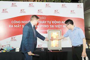 Sản phẩm dập cháy tự động Pyro: Đã đến Việt Nam