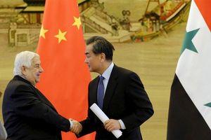 Núi tiền Trung Quốc tái thiết Syria: Đòn hiểm Nga vào Mỹ