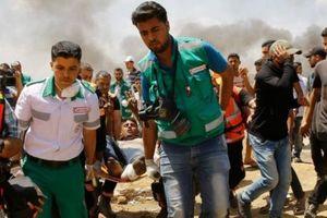 Bạo lực ở Dải Gaza, ít nhất 52 người Palestine thiệt mạng và hơn 2.400 người bị thương