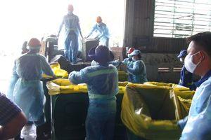 Gần 14 tấn vú heo thối của Trung Quốc suýt vào nhà hàng