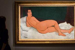 Kiệt tác tranh khỏa thân của danh họa Modigliani được bán với giá hơn 157 triệu USD