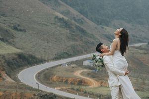 Ca sĩ Lâm Vũ tung ảnh cưới lãng mạn với hoa hậu gốc Việt tại Mỹ