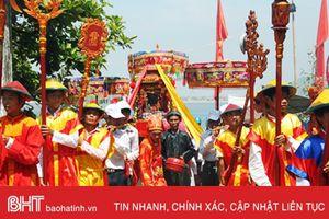Lễ rước bằng di sản Lễ hội đền Chiêu Trưng sẽ diễn ra dọc sông Cày