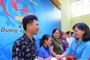 Bình Dương: 1.700 doanh nghiệp có công đoàn cơ sở tổ chức bữa ăn ca cho công nhân