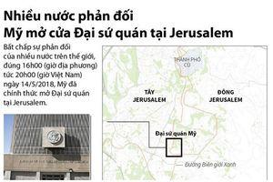 Nhiều nước phản đối Mỹ mở cửa Đại sứ quán tại Jerusalem