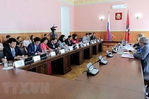 Liên tục đẩy mạnh mối quan hệ hợp tác Hà Nội-Moskva