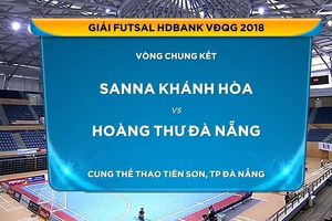 Giải Futsal VĐQG HDBank: Sanna Khánh Hòa giành chiến thắng đầu tiên
