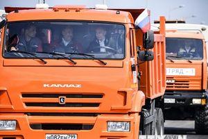 Tổ chức NATO lên án Nga về cây cầu mới nối với bán đảo Crimea