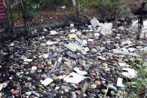 Cà Mau: Dân sống chịu đựng bên kênh hôi thối quanh năm