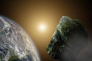 Thiên thạch khổng lồ lướt sát Trái đất