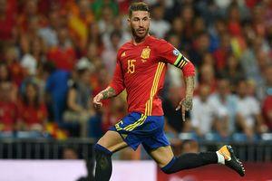 Sergio Ramos đội tuyển Tây Ban Nha: Xứng đáng với băng đội trưởng
