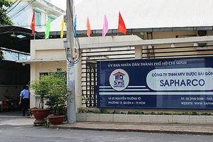 Công ty Dược Sài Gòn bị phạt 30 triệu đồng vì bán thuốc cao hơn giá kê khai