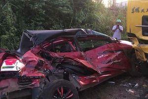 Đắk Lắk: Ô tô con đấu đầu xe tải, 1 người chết, 3 người trọng thương