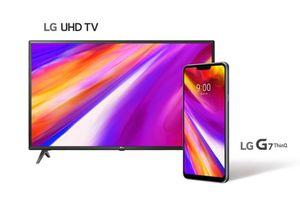 Ở 'nước người ta', mua LG G7 ThinQ khách được tặng TV 4K 43 inch