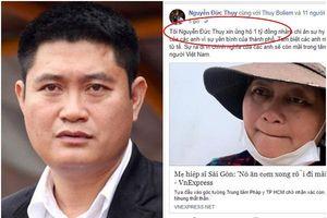 Đại gia Nguyễn Đức Thụy tuyên bố tặng các 'hiệp sĩ' đường phố 1 tỷ đồng