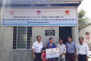 Busadco bàn giao nhà ở an toàn phòng chống thiên tai cho các hộ nghèo