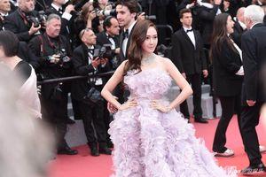 Cựu thành viên SNSD bị chê thiếu tự nhiên trên thảm đỏ Cannes 2018