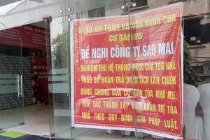 Chung cư của doanh nghiệp thuộc Thành ủy Hà Nội mắc nhiều sai phạm