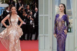 Cannes 2018: Vũ Ngọc Anh dạn dĩ khoe 80% cơ thể, có lấn át Lý Nhã Kỳ?