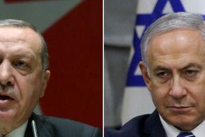 Tổng thống Erdogan khẩu chiến 'bốc lửa' với Thủ tướng Netanyahu