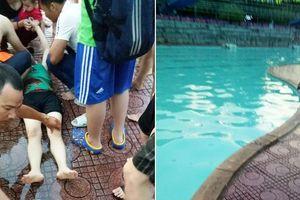 Nghệ An: 1 người phụ nữ bất tỉnh ở bể bơi do nghi bị rò điện, nhiều người bất an
