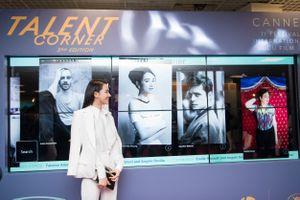 Nhã Phương được giới thiệu là gương mặt tài năng tại Cannes 2018